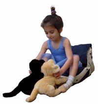 first freebag play cushion - click for larger image